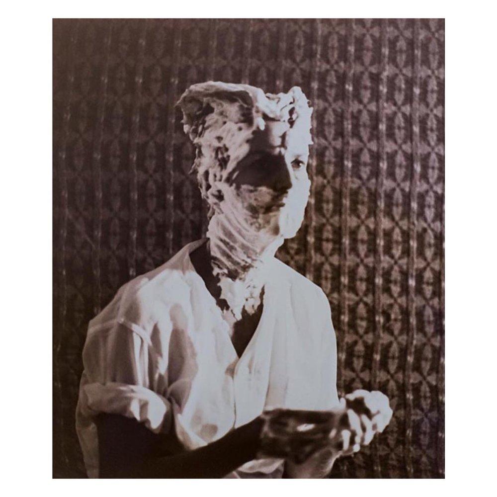 Sturtevant, Duchamp Man Ray Portrait (1966)