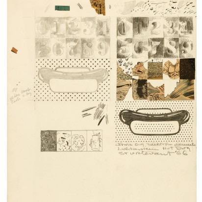 Sturtevant, sketch (1966)