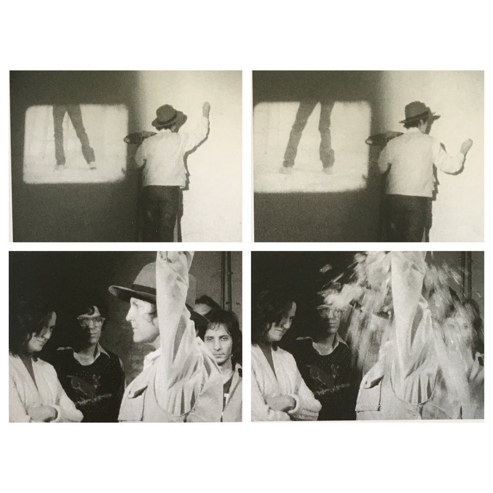 Sturtevant, Stills from Study for Various Beuys Actions, 1971