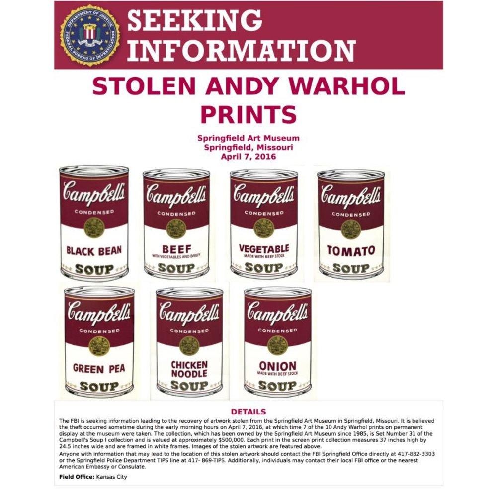 #deadartistsociety Andy Warhol