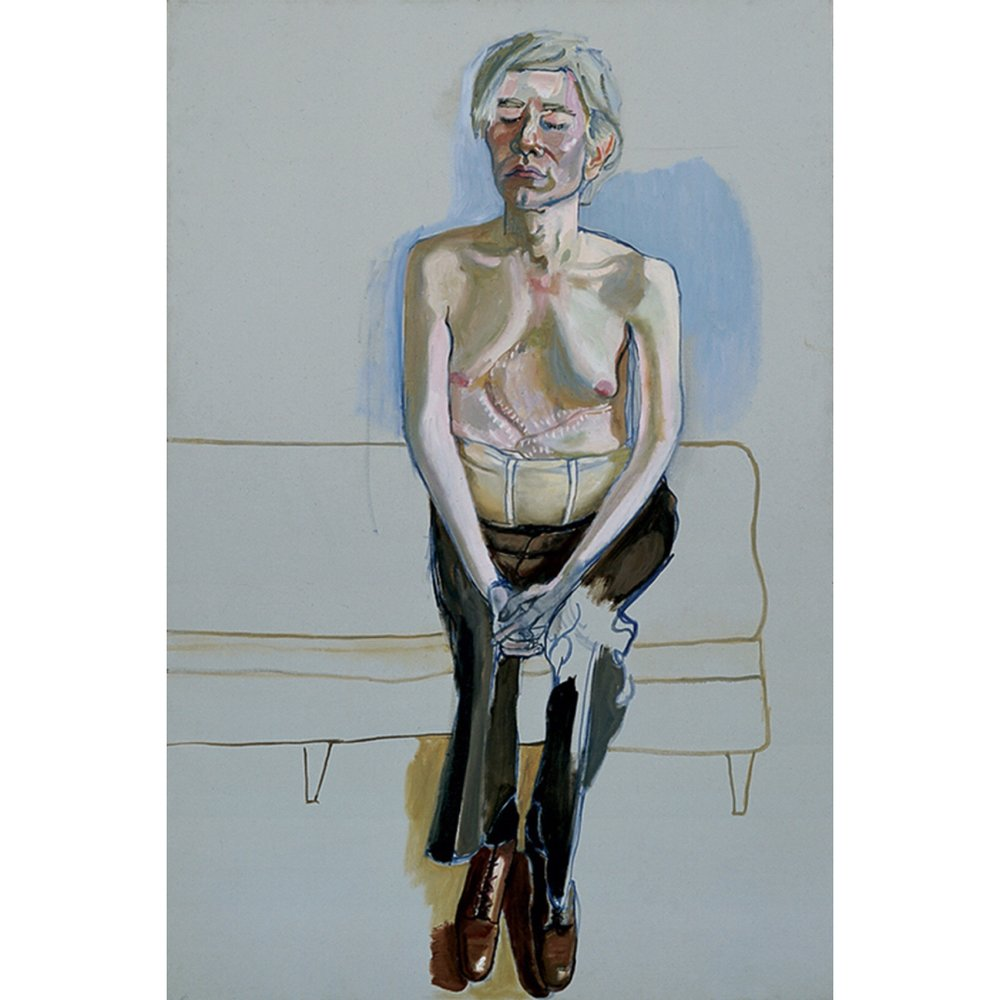 Alice Neel portrait of Andy