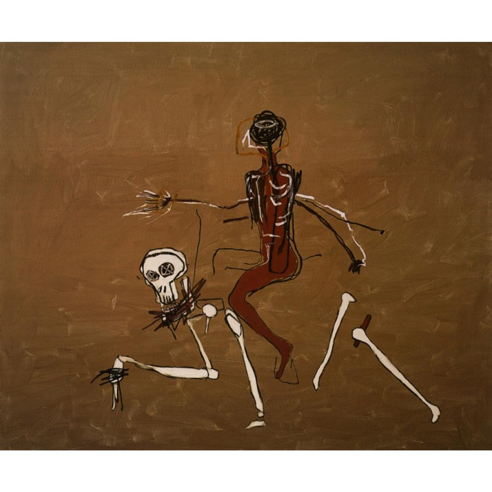 Riding with Death, Basquiat 1988