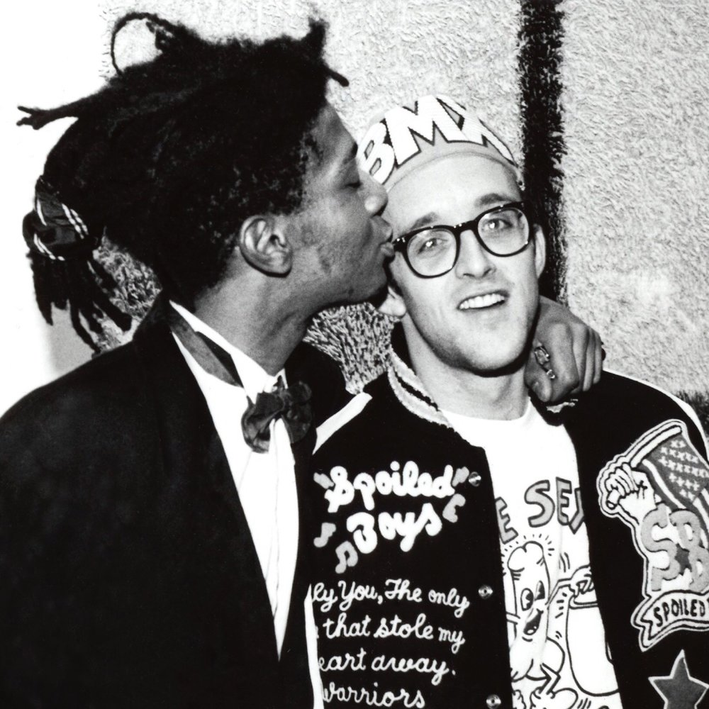 Basquiat with Haring