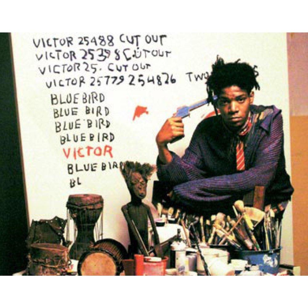 #deadartistsociety Basquiat