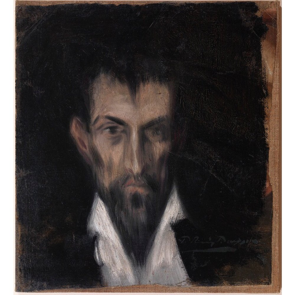 Face in the style if El Greco 1899