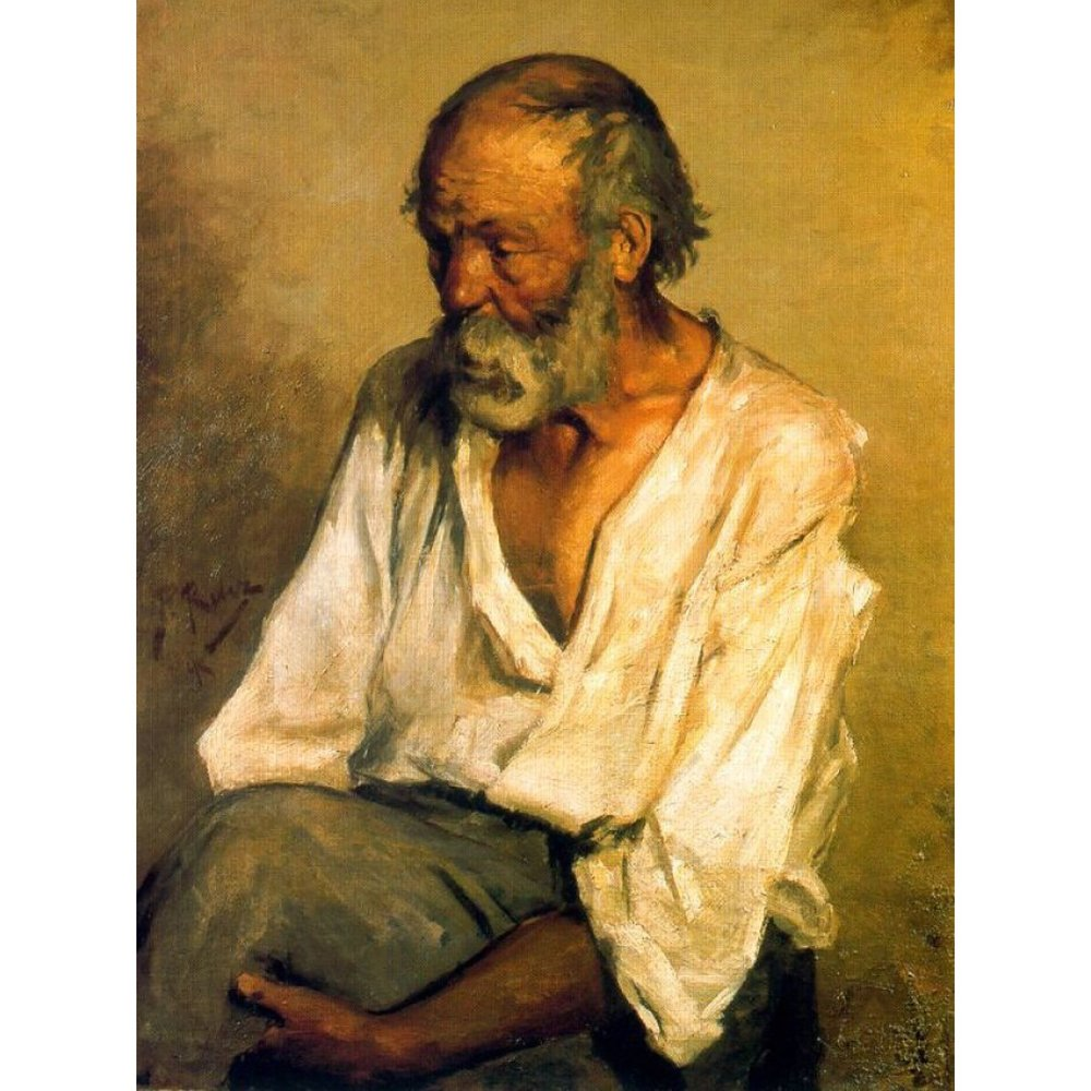 The Old Fisherman, 1895