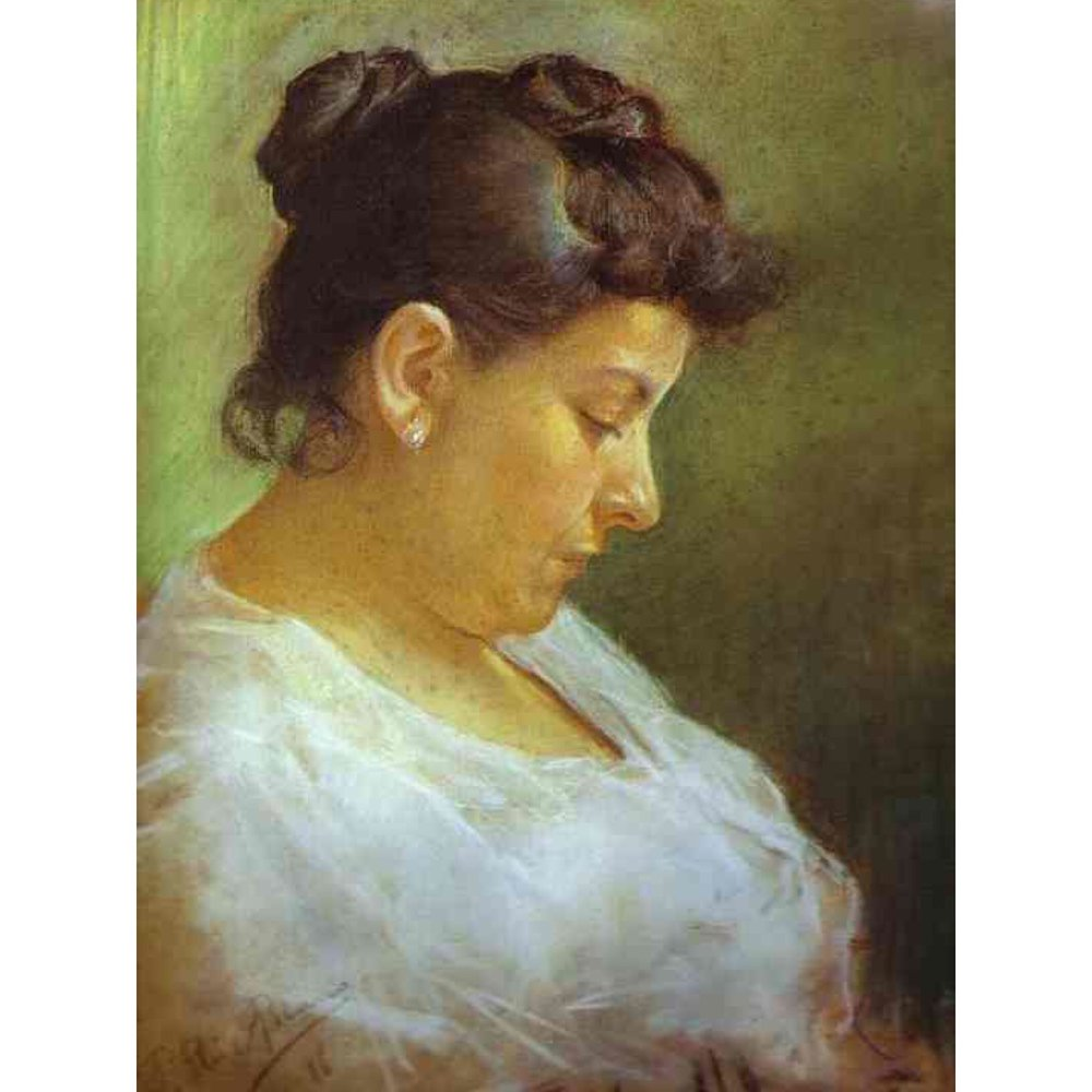 Portrait of the Artist's Mother, 1896