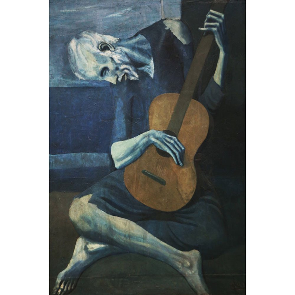 The Old Guitarist, 1903-04