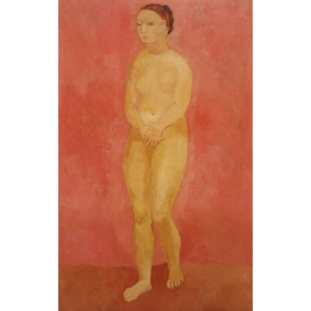 Nude with Joined Hands, 1906