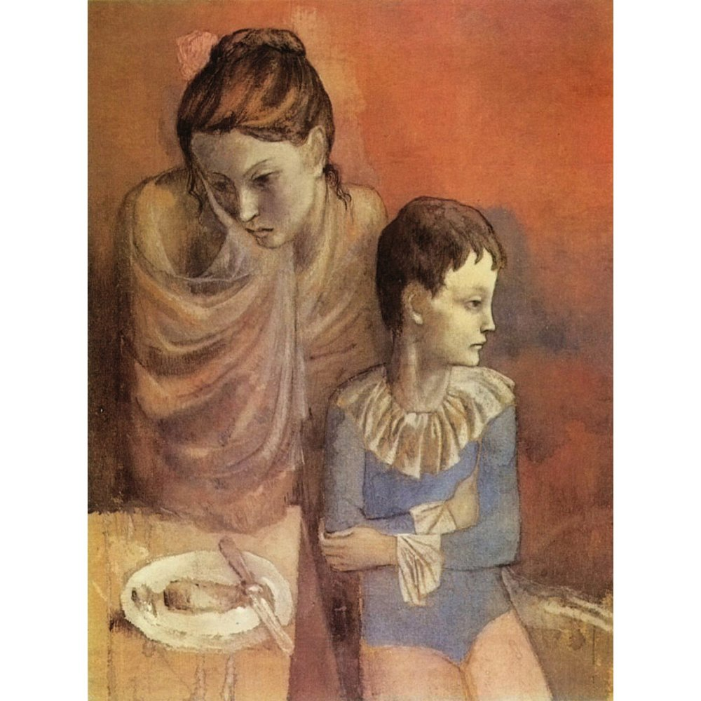 Tumblers (Mother and Son), 1905