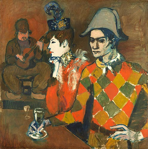 "In ""Le Lapin Agile"" or Harlequin with a Glass, 1905"