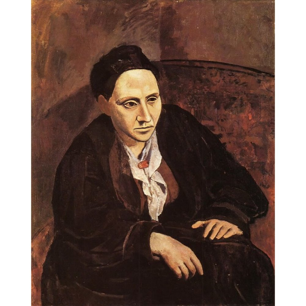 Portrait of Gertrude Stein (1905)