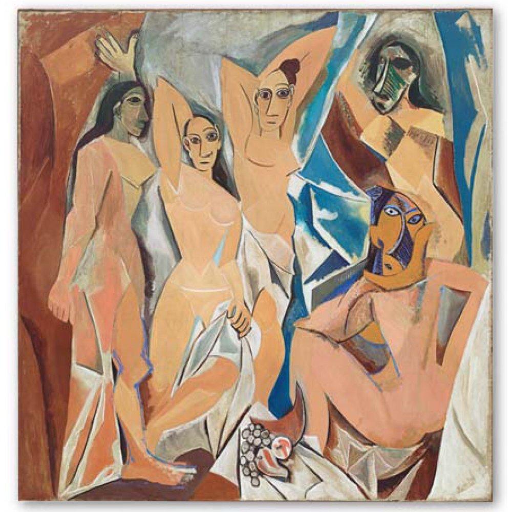 Les Demoiselles d'Avignon (1907)