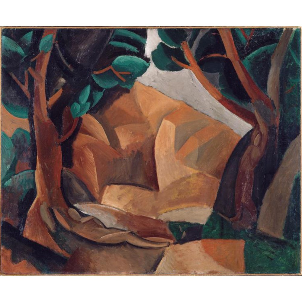 Landscape with Two Figures, 1908