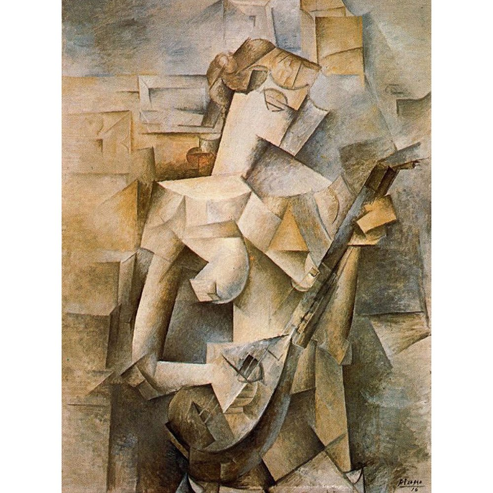 Girl With Mandolin, 1910