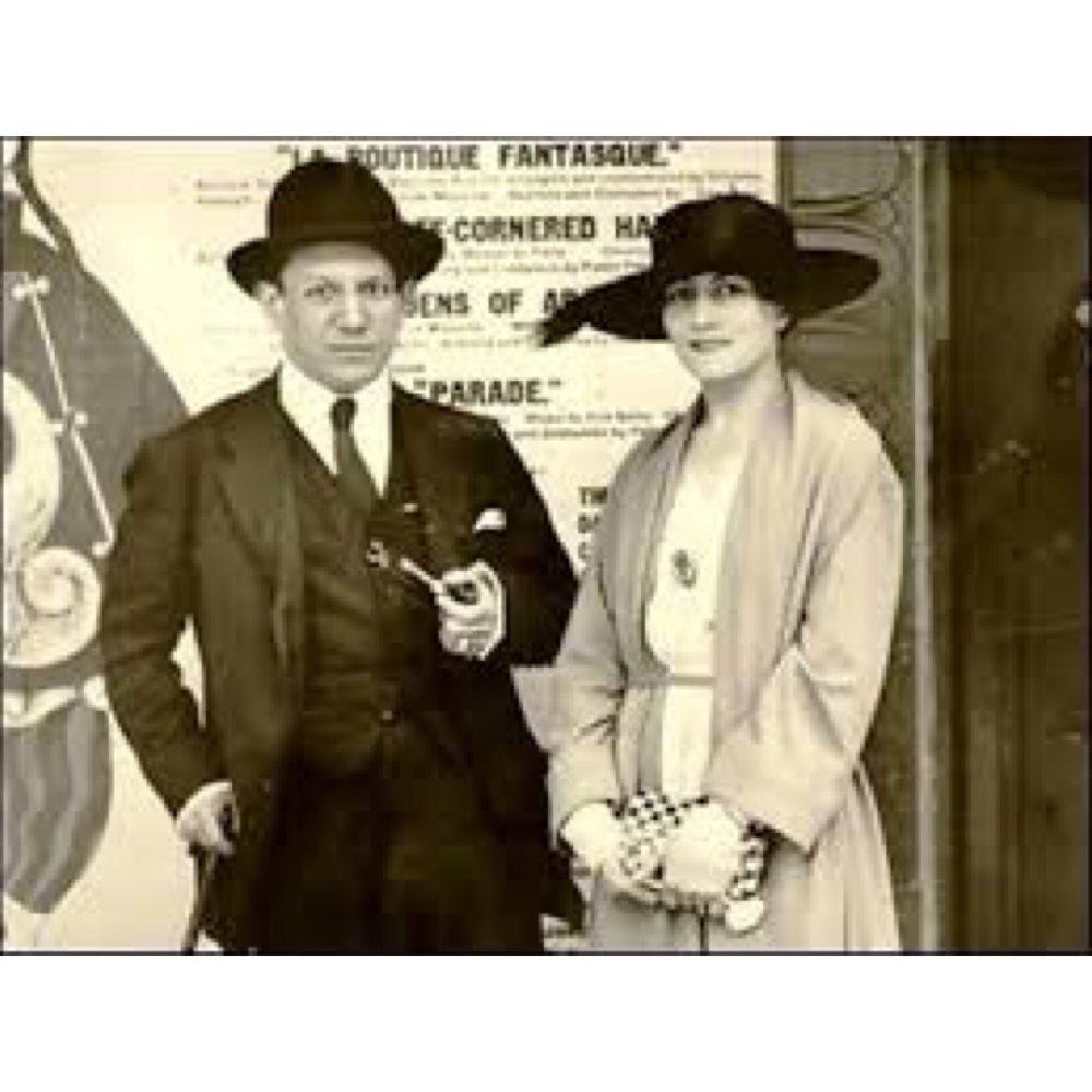 he and Olga Kokhlova