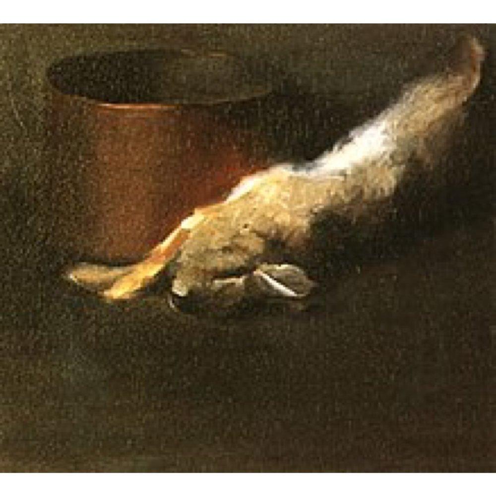 Dead Rabbit with a Copper Pot