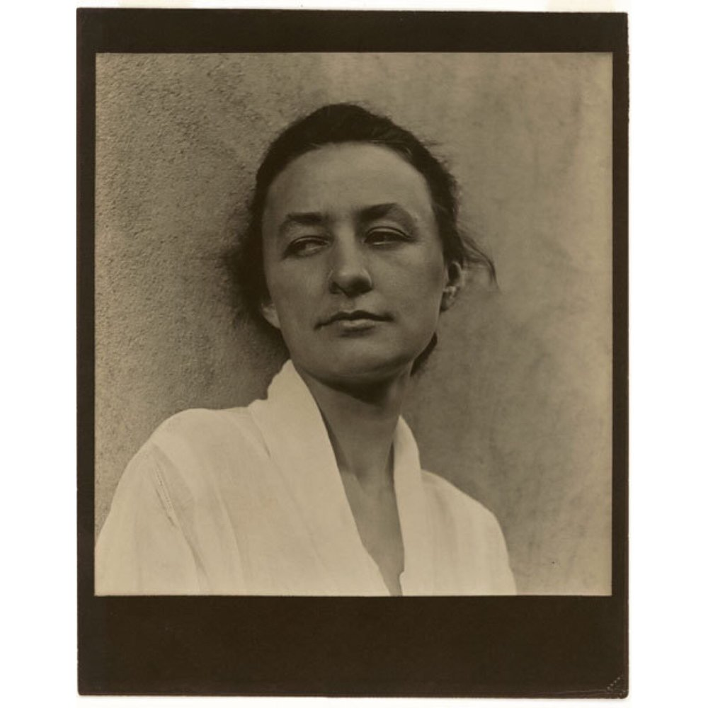 Georgia by Paul Strand while in Texas,