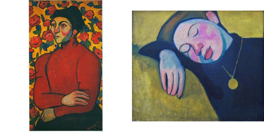 Philomene, 1907 and Sleeping Girl, 1907