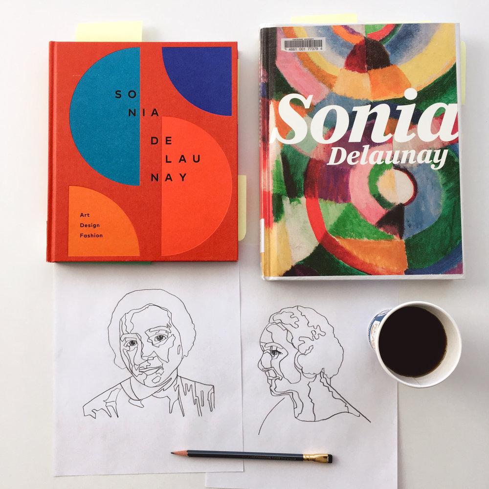 crystal moody | #deadartistsociety Sonia Delaunay