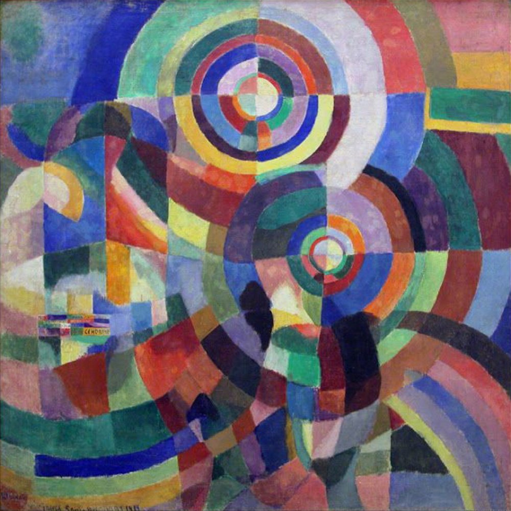 Sonia Delaunay Electric Prisms 1914
