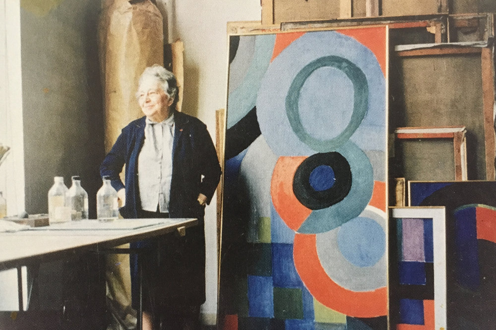 #deadartistsociety Sonia Delaunay