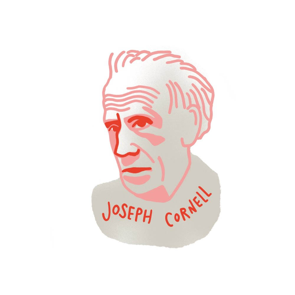 crystal moody #deadartistsociety Joseph Cornell