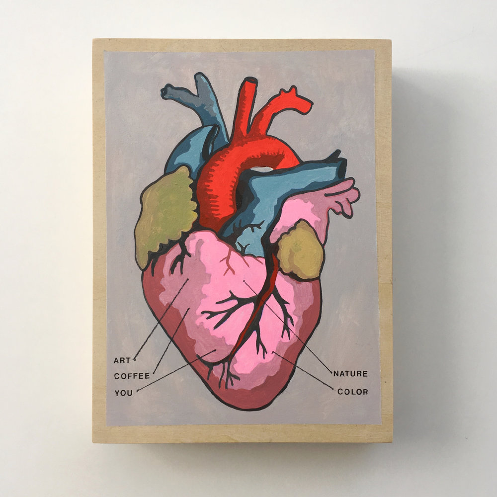 crystal moody | anatomy of a heart
