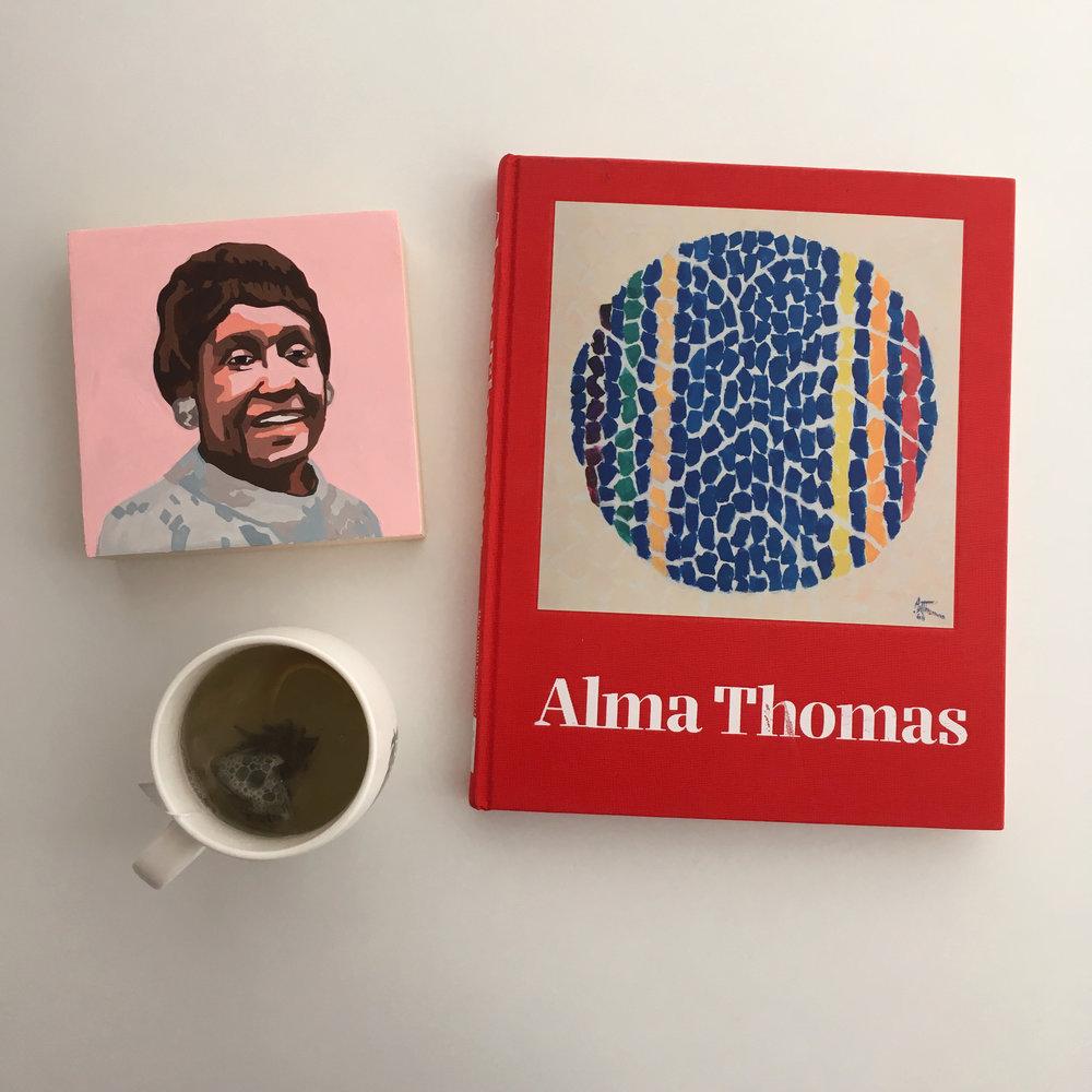crystal moody | #deadartistsociety Alma Thomas