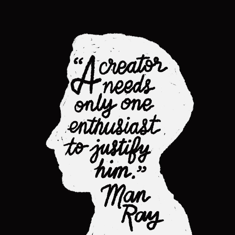 crystal moody | #deadartistsociety Man Ray