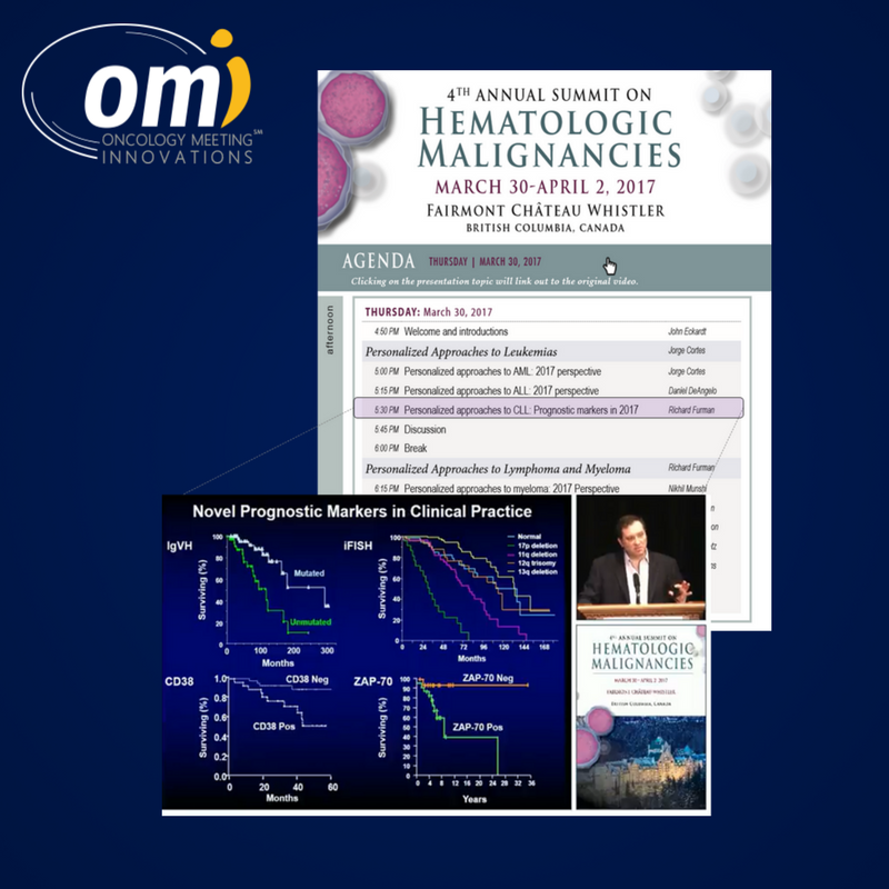 Oncology meeting on demand information about non-CME evolution in oncology
