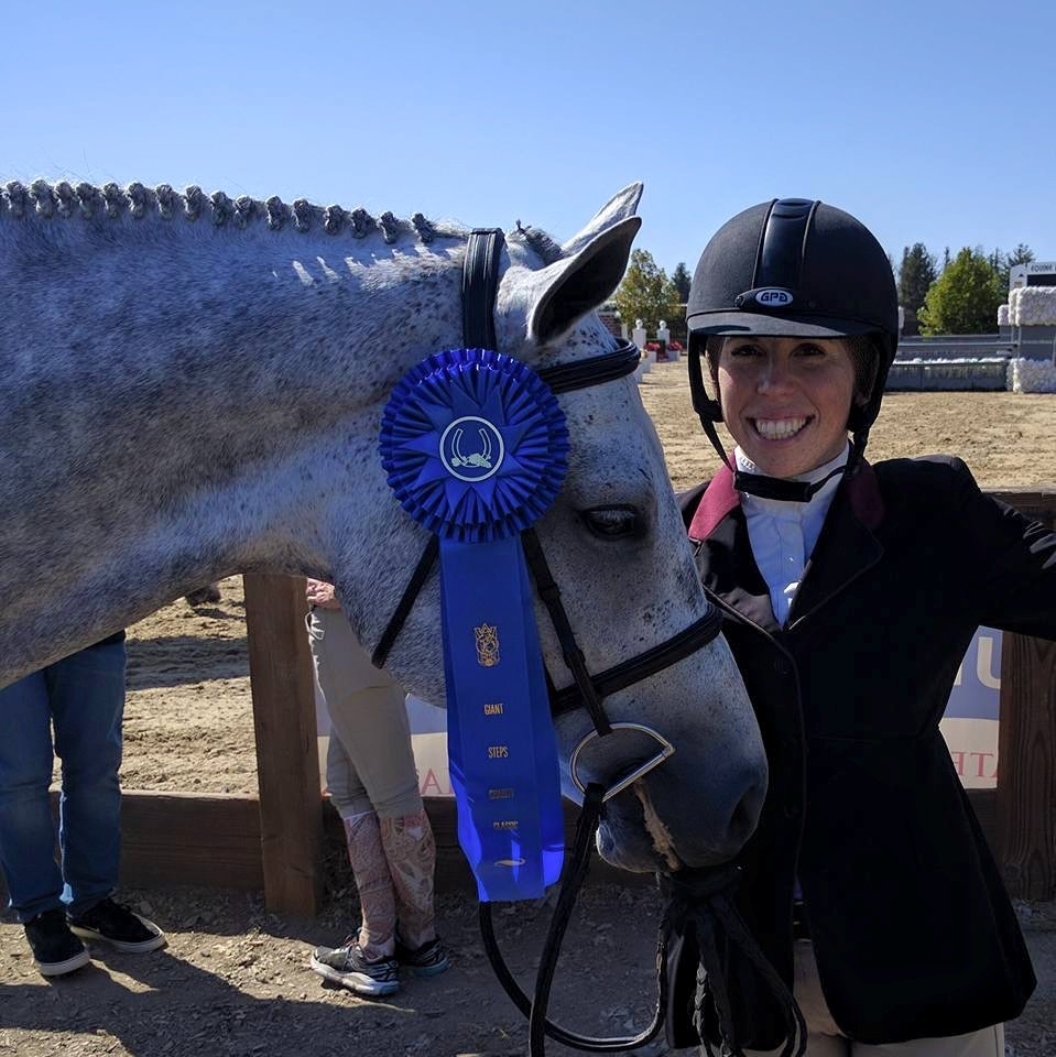 Jackie and Focus, 1st in the 3'3 A/O