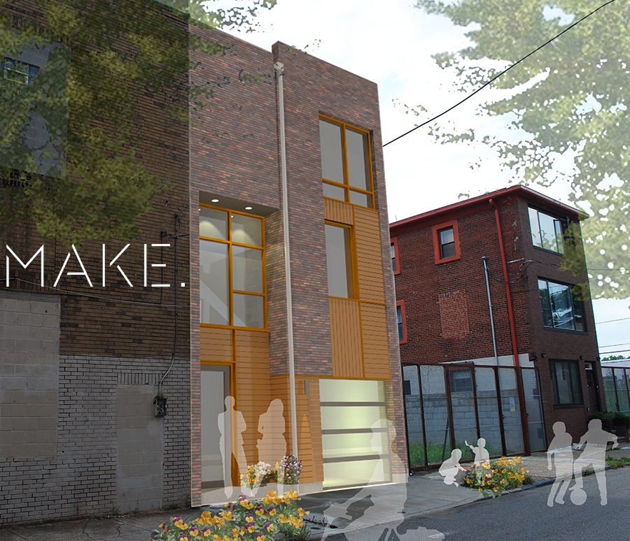 MAKE. llc is a full-service architecture, design, and planning firm based in Northern Liberties in Philadelphia.  Supported by a fabrication shop, our studio is prepared to equally engage the practical, theoretical, material, and experiential qualities of the field of architecture.
