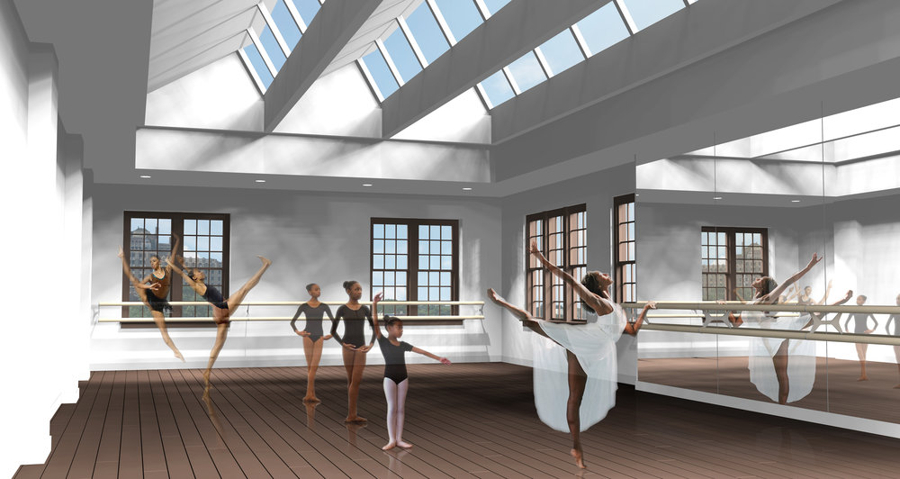 Proposed Third Floor Performing Arts Studio
