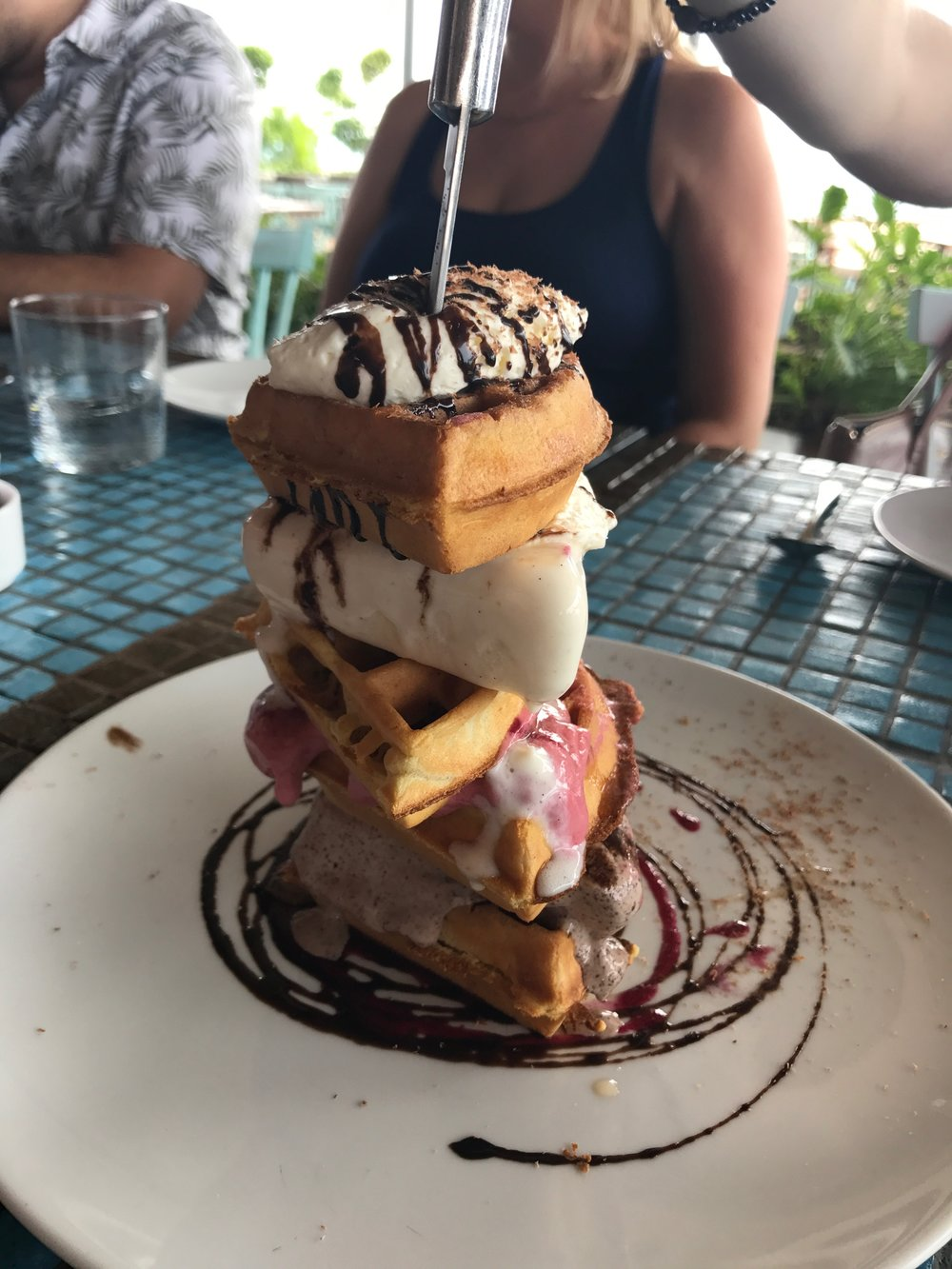 Waffle Tower at Catch - Thompson Hotels