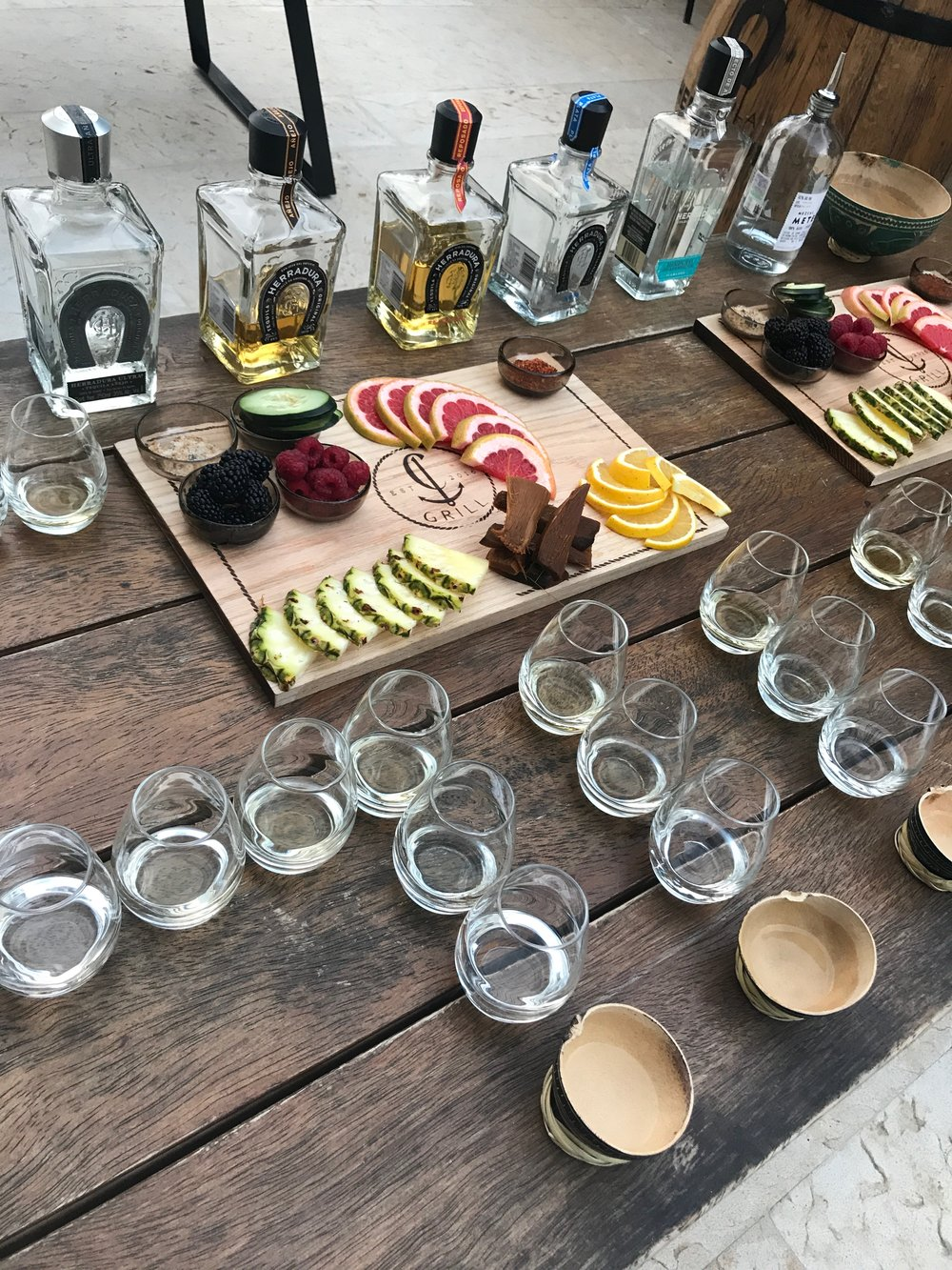 Tequila Tasting at Thompson Beach House