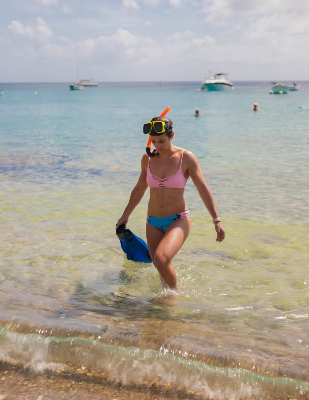 Snorkeling with SeaTurtles in Curacao
