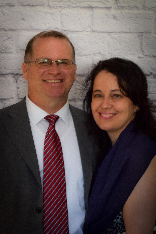 Our Sunday School Superintendent    Bro. Doug Ricker and his wife Mrs. Tonda