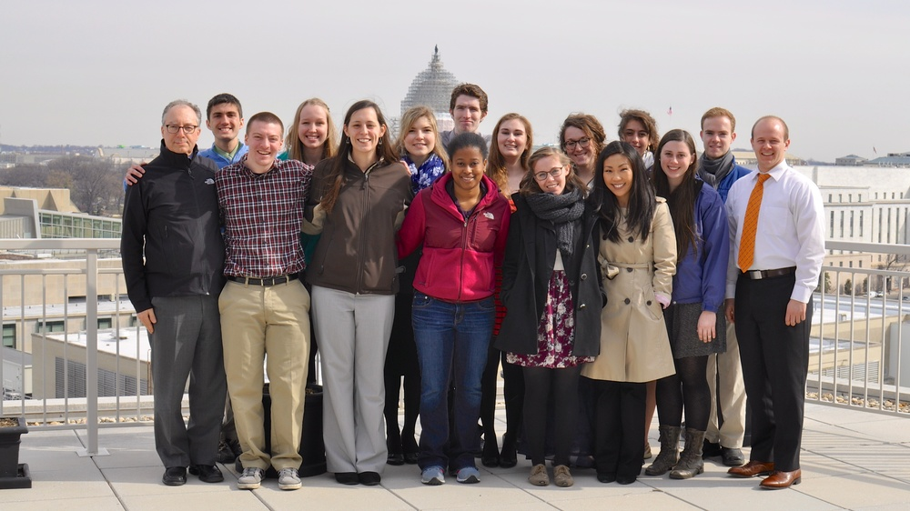 Emmaus Scholars spent the day with Jared Noetzel of Bread for the World learning about the biblical and theological basis of advocacy prior to lobbying Congress on the Special Supplemental Nutrition Program for Women, Infants and Children (WIC), March 19, 2015