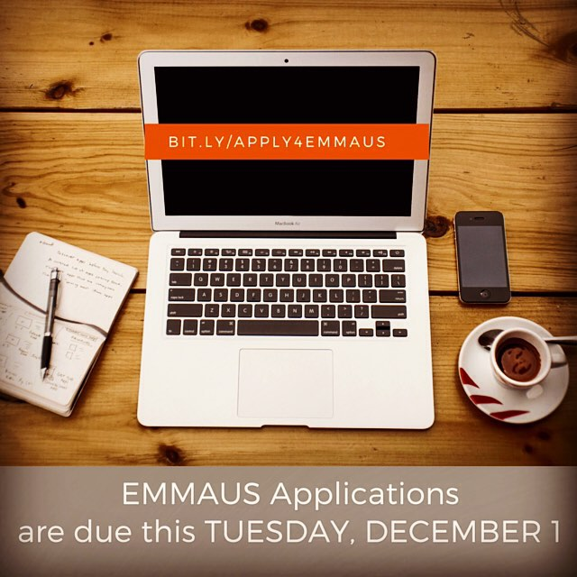 http://bit.ly/apply4emmaus