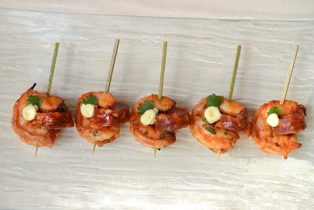 Butlered Shrimp Chorizo Saffron Aoli.jpg