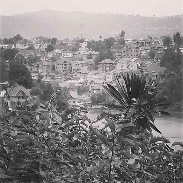 Bukavu, by lake Kivu in Eastern DRC