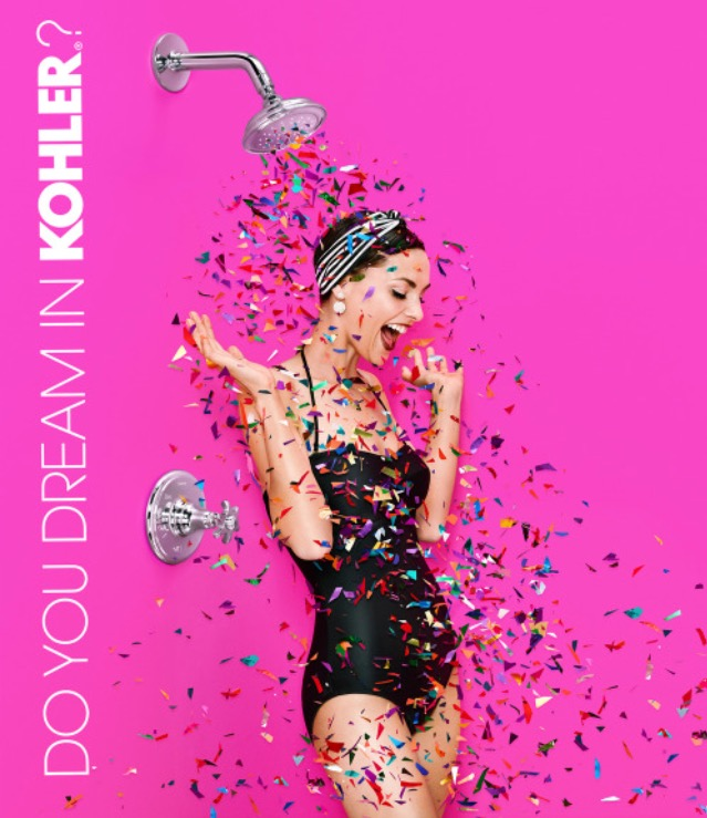 Do You Dream in Kohler? Kohler campaign 2015 Photographer: Juco Photo: Julia Galdo & Cody Cloud