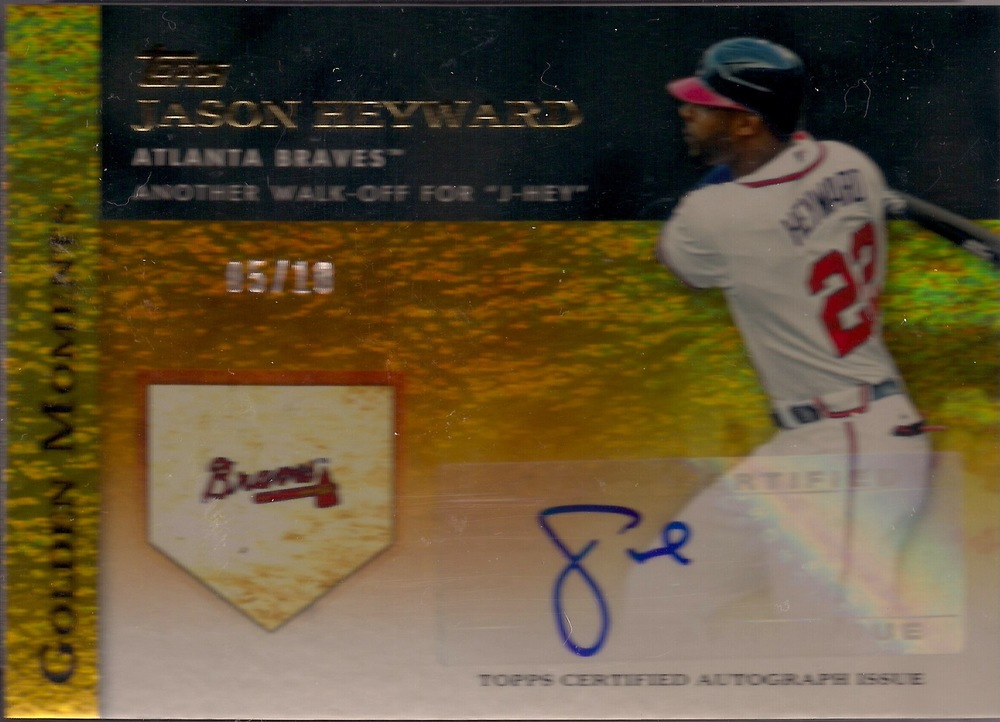 2012 Topps Golden Moments Auto #GMA-JH (5/10)