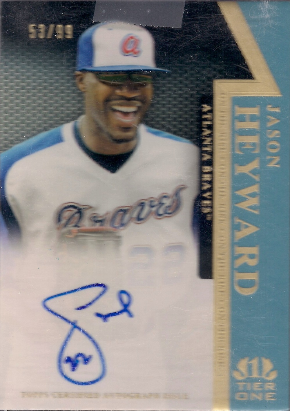 2011 Topps Tier One Auto OR-JH