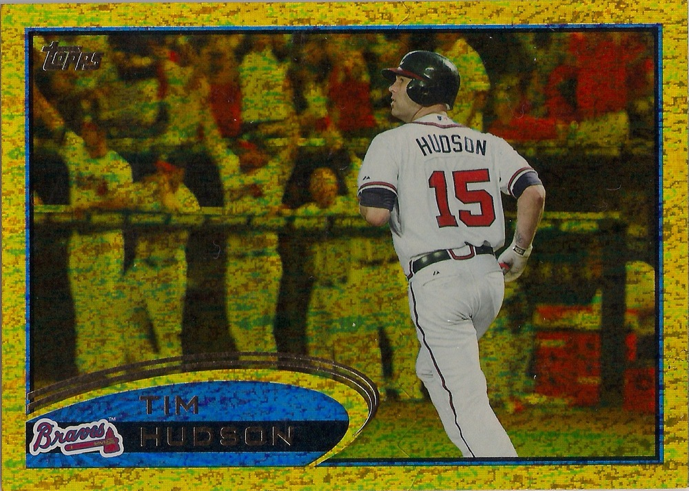 2012 Topps Gold Sparkle Parallel #58