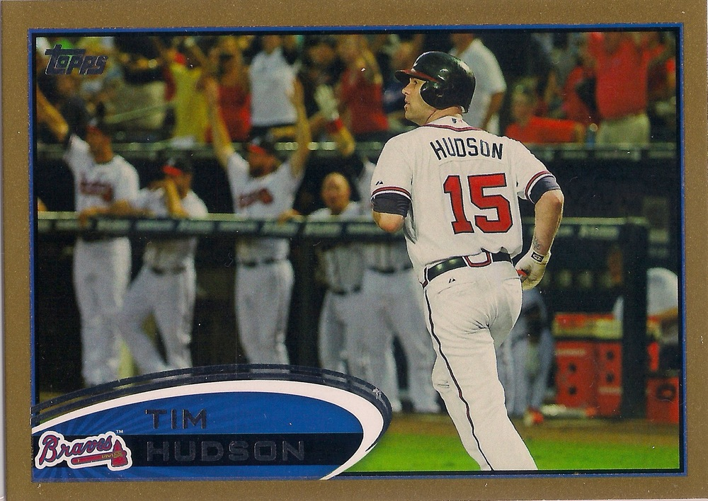 2012 Topps Gold Parallel #58