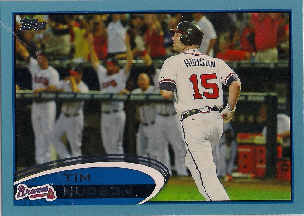 2012 Topps Blue (Wal-Mart Exclusive) Parallel #58