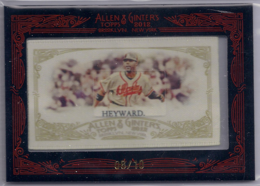 2012 Allen & Ginter Silk Collection