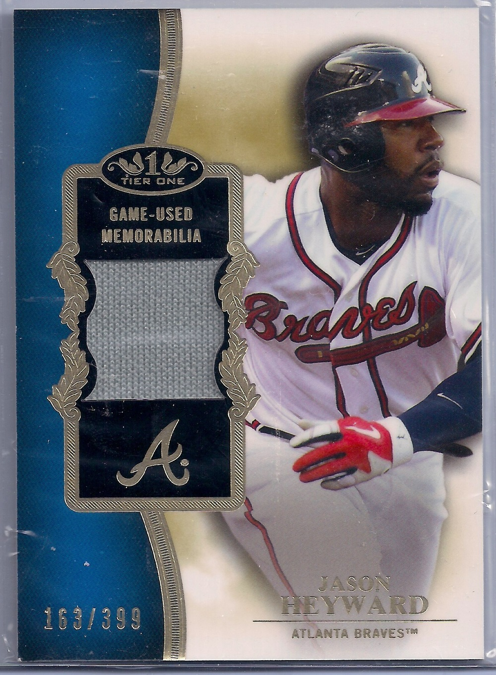 2012 Topps Tier One Relic #TSR-JH